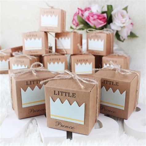 where to buy baby shower decorations aliexpress buy 50pcs paperboard gift boxes for baby
