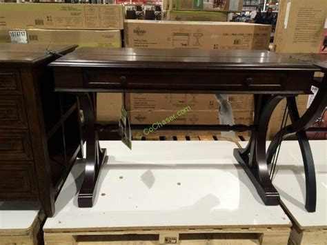 Bayside Computer Desk by Desk With Glass Top At Costco Hostgarcia