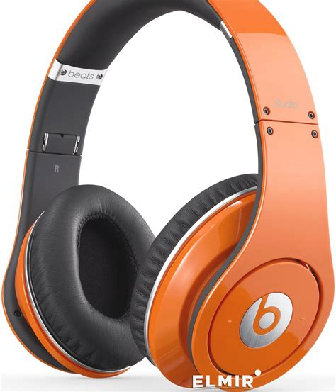 Beats By Drdre Studio Orange Limited Edition Headphones
