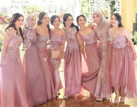 bridesmaid inspiration  atameliapungky   batik
