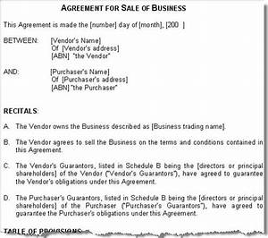 sale of business agreement contract australia With legal document preparation business for sale