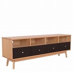 meuble tv scandinave 4 tiroirs skoll by drawer With meuble 4 tiroir