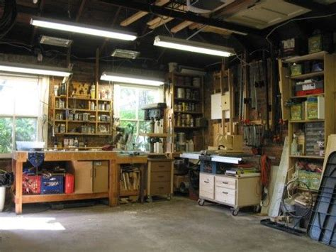 car garage  shop  ideal workshop pinterest