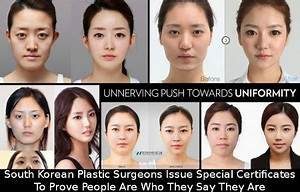 In South Korea, Plastic Surgery Patients Get Certs To ...
