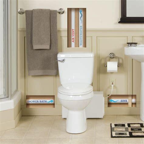 bathroom anywhere macerator pump volt the home depot
