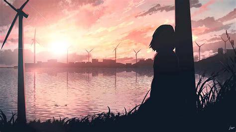 1920x1080 Sad Anime Girl 4k Laptop Full Hd 1080p Hd 4k