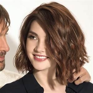 Coiffure Automne Hiver 2017 : coiffures coupes mi longues tendances automne hiver 2017 2018 page 18 ~ Melissatoandfro.com Idées de Décoration
