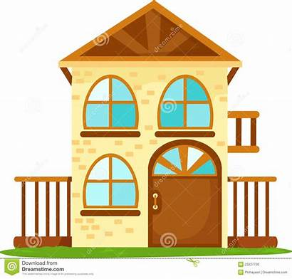 Cartoon Building Houses Housing Illustration Cartoons Background