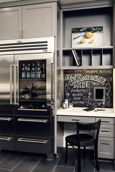 kitchen cabinets  refrigerator   storage space