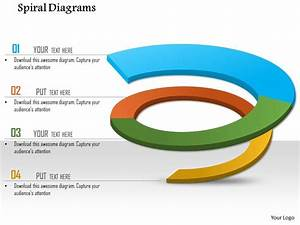 1114 Spiral Diagrams For Powerpoint Powerpoint