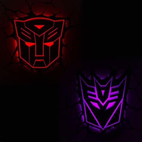 3d fx transformers shields wall lights