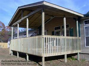 Porch Designs for Mobile Homes Mobile Home Porches