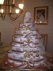 huebsche torte aus toilettenpapier geschenke geschenke