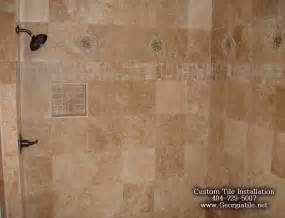 travertine tile bathroom ideas tub shower travertine shower ideas pictures