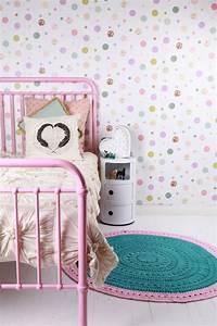 Papier Peint Petite Fille : les jolies chambres de petites filles ~ Dailycaller-alerts.com Idées de Décoration