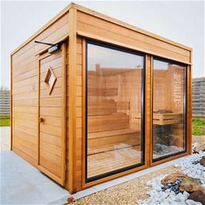 Sauna Für Garten : saunahaus optirelax gartensauna ~ Markanthonyermac.com Haus und Dekorationen