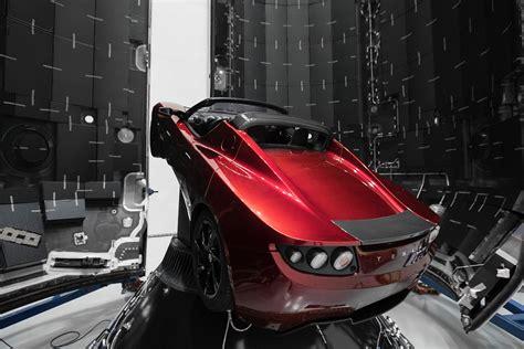 sur si鑒e voiture un roadster tesla dans l 39 espace les voitures électriques