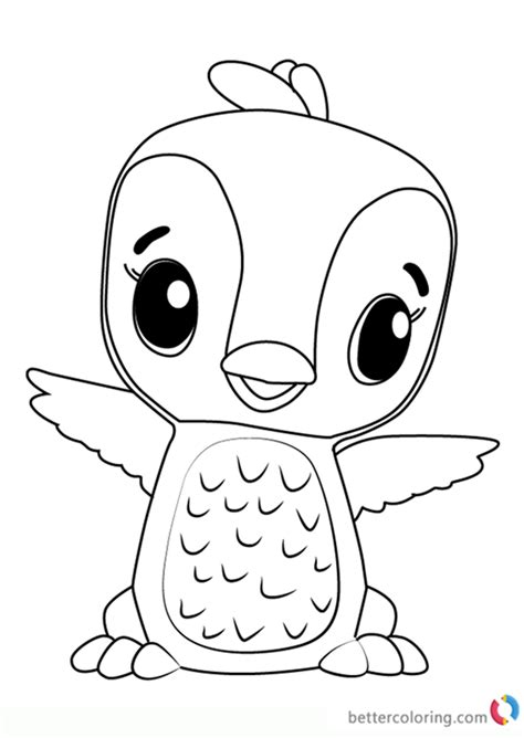penguala  hatchimals coloring book  printable