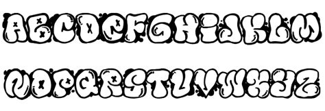 Graffiti Abc Bubble : Bubbles Graffiti Fonts Style