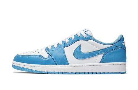 Nike Sb X Air Jordan 1 Low Unc Dark Powder Blue White