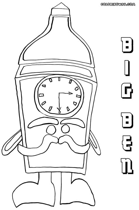 big ben coloring pages coloring pages    print