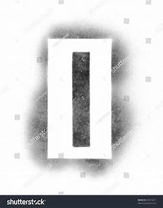 stencil letters in spray paint stock photo 29912611 With letters for spray painting