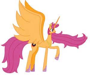 Princess Alicorn Scootaloo