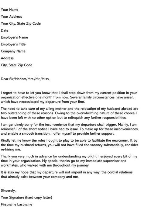 65 Astonishing Resignation Effective Date Image Ideas – resignation letter