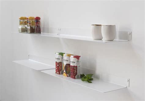 etagere murale pour cuisine étagère pour la cuisine teeline 60 cm lot de 2 acier