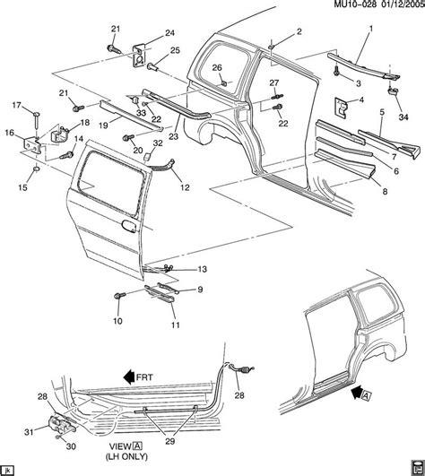 Saturn Door Diagram by Service Manual Replace 2010 Saturn Vue Door Sliding Door