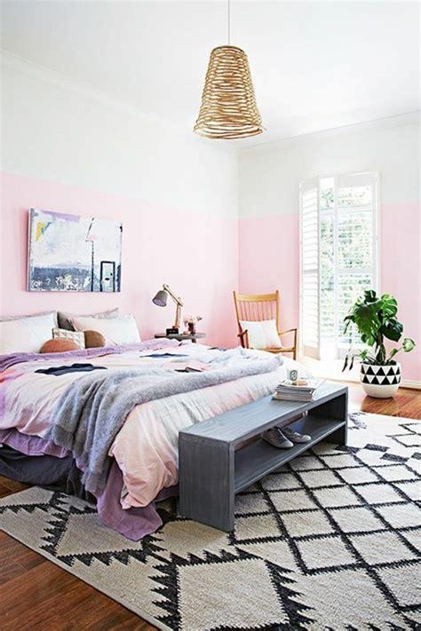 peindre une chambre avec deux couleurs nos astuces en photos pour peindre une pièce en deux