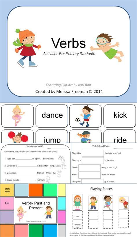 verbs activities esol tool box matching