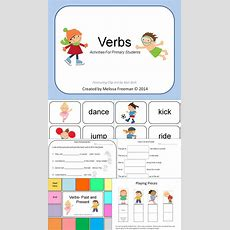 10 Best Nouns And Verbs Worksheets Images On Pinterest  Vocabulary, Writing And 1st Grades