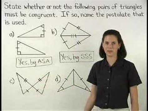 proving triangles  congruent mathhelpcom math
