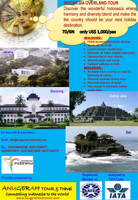 anugerah indonesia  travel connecting indonesia