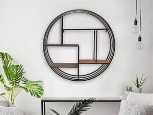 Etagere Ronde Murale : o trouver une tag re murale ronde joli place ~ Teatrodelosmanantiales.com Idées de Décoration