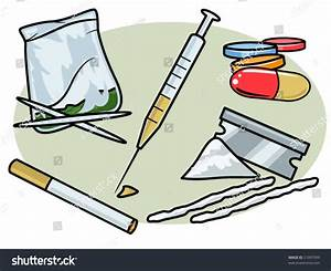 Vector Illustration Of Various Street Drugs.... Perfect ...