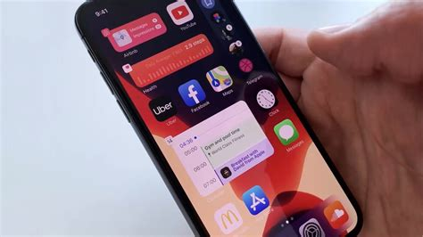 IOS 14 Concept With Beautiful Widgets On The Home Screen ...
