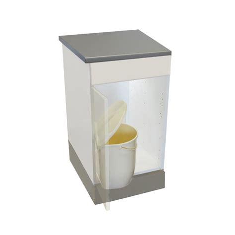 porte poubelle cuisine poubelle cuisine pivotante 1 bac 12 litres