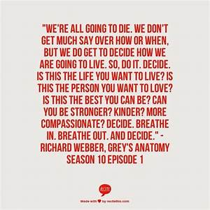 Best 25+ Grey anatomy quotes ideas on Pinterest | Greys ...
