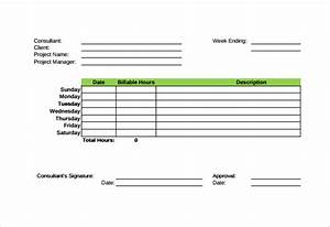 20 consultant timesheet templates free sample example With consultant time tracking template