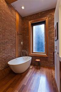 Incorporating exposed bricks in stylish designs around the
