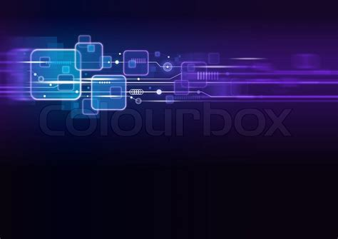 technology background design stock photo colourbox