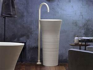 vasque design pour les salles de bains modernes 35 modeles With salle de bain design avec vasque sur pied salle de bain