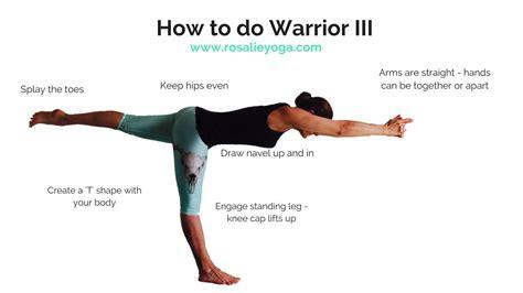 Beginners Yoga How To Do Warrior Iii Youtube