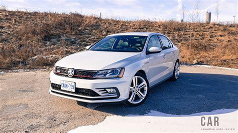 gli volkswagen review 2017 volkswagen jetta gli canadian auto review