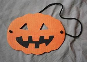 Masque Halloween A Fabriquer : affordable masque halloween with masque citrouille ~ Melissatoandfro.com Idées de Décoration