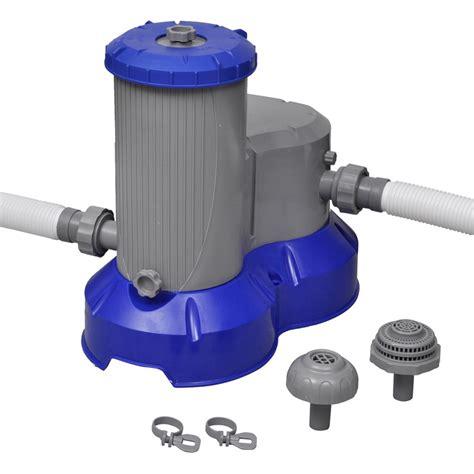 bestway pompe de filtration pour piscine flowclear 58391 jardin piscine