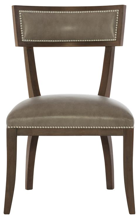 leather dining side chair bernhardt