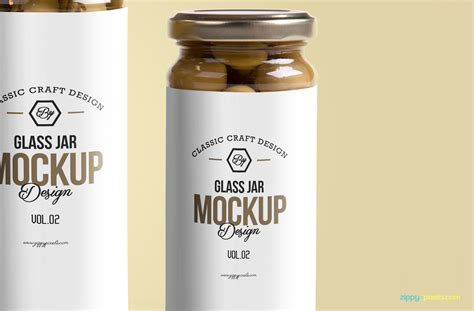 Including multiple different psd mockups like samsung galaxy, laptop, tablet, smartphone, pc and computer display/screen mockups. Free Glass Jar Mockup PSD | ZippyPixels